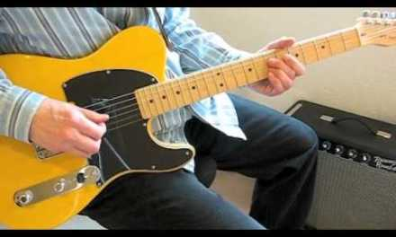 Guitar Lesson: Born on the Bayou (Solo and Chord Licks)