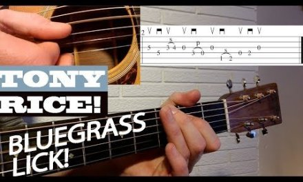 LICK #2 – Tony Rice | Bluegrass Guitar Lesson with TAB