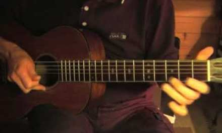 Delta Blues Guitar Lesson – Part 3 – Canned Heat Blues/Tommy Johnson