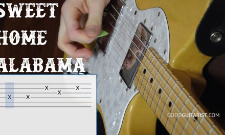 "Learn ""Sweet Home Alabama"" – Step-by-step Guitar Walkthrough – How to play the chords and riff"