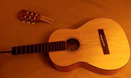 Guitar repair, part 1