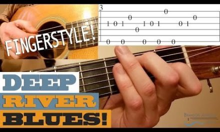 Deep River Blues – Traditional FINGERSTYLE Tune | Bluegrass Guitar Lesson with TAB