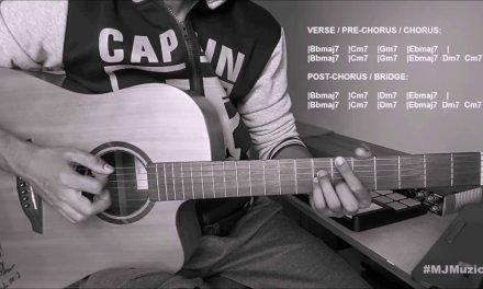 Lost In Japan (Shawn Mendes)    Guitar Chords Tutorial – MJ   