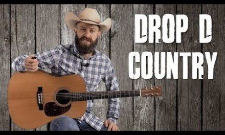 Drop D Country Guitar Riffs – Guitar Lesson