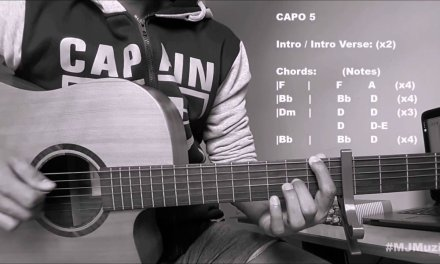 In My Blood (Shawn Mendes) || Guitar Chords Tutorial – MJ ||