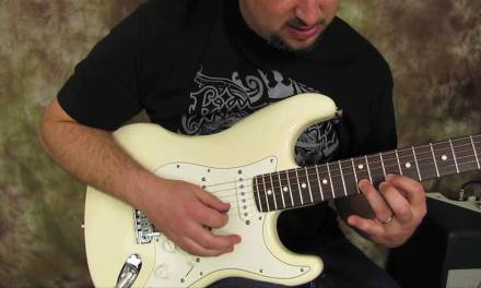 Rock and Blues Electric Guitar Solo Lesson –  Building Speed  guitar solo lick