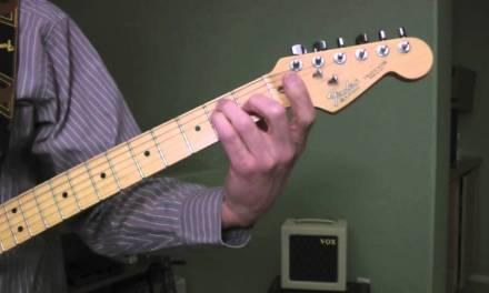 Chris Isaak – Blue Hotel – Guitar Lesson