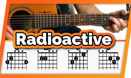 Radioactive – Imagine Dragons – Guitar Tutorial / Lesson For Beginners // Easy Chords