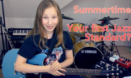 Summertime – Jazz guitar lesson (Chords and Melody)