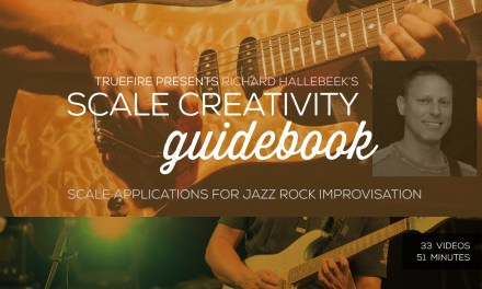Richard Hallebeek's Scale Creativity Guidebook – Intro – Guitar Lessons