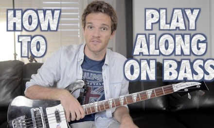 How to Play Along on Bass Guitar