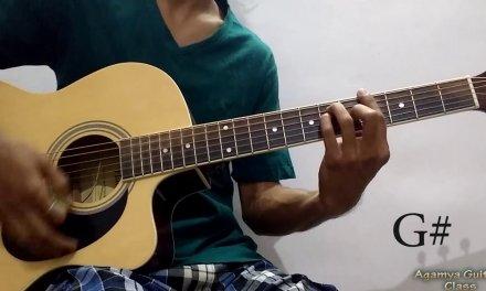 Tu Na Aaya (Shyamoli Sanghi) Guitar Chords Lesson (capo), Strumming Pattern, Running Progressions