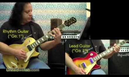 Alice Cooper – School's Out Guitar Cover
