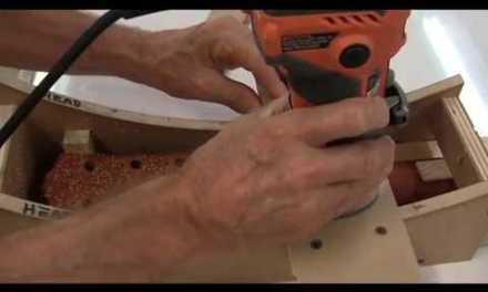 Broken guitar headstock repair