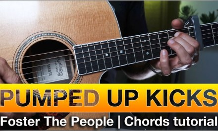 Pumped Up Kicks   Guitar Lesson (Tutorial)   How to play chords   easy, beginner
