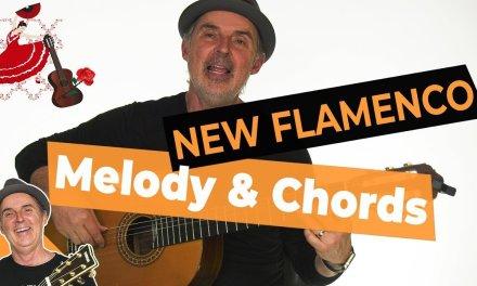 Spanish Flamenco Guitar Lesson | New Flamenco Melody and Chords