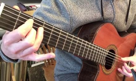 Elegia – New Order (Guitar arrangement)