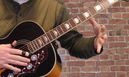 Reverend Gary Davis Guitar Lesson   Cinncinati Flow Rag REVISED Part 2