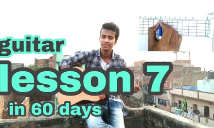 guitar sargam lesson 7 in 60 days hindi with notes