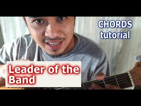 Leader of the Band Chords (Guitar Tutorial) Dan Fogelberg – No Capo ...