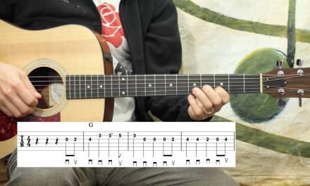 Oh! Susanna – Beginner Guitar Lesson