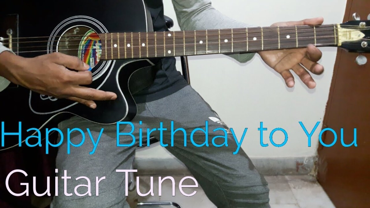 Happy Birthday Guitar Tabs Single String Guitar Lesson For