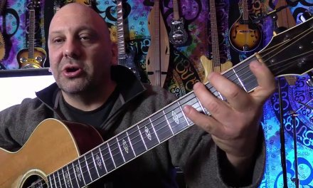 Beginner Guitar Lesson Review:  G Major Scale Open Position
