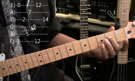 EVERY E Note Location On The Guitar Fret Board EricBlackmonGuitar Quick TABS Reference
