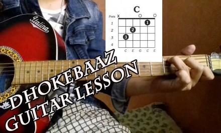 DhokeBaaj (Goldigger's Gift) – Neetesh Jung Kunwar (Guitar Chords Lesson)||sajilo guitar lesson