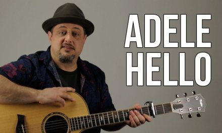 Hello by Adele Acoustic Guitar Lesson – Super Easy Beginner Acoustic Songs