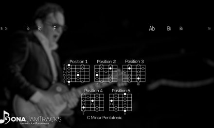 Bona Jam Tracks   Happier Times Official Joe Bonamassa Guitar Backing Track in C Minor