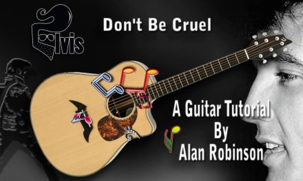 Don't Be Cruel – Elvis – Acoustic Guitar Lesson (easy-ish)
