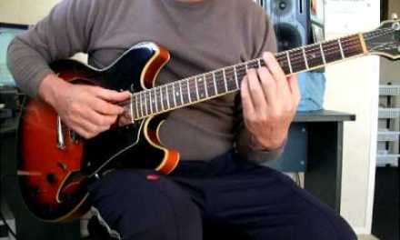 Dix Nacey Jazz Guitar Lesson 23 Subdominant minor in Bb blues
