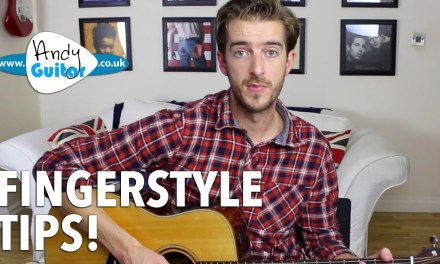 Improve Your Acoustic Fingerstyle Playing – Intermediate Guitar Lesson