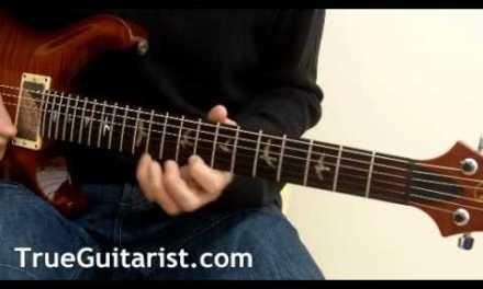 Guitar Lesson: Minor Blues (www.TrueGuitarist.com)