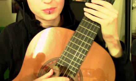 ASMR Guitar lesson role play