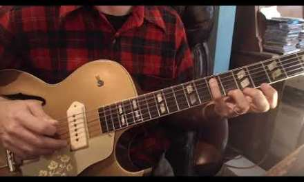 Johnny Moore Guitar lesson by Tommy Harkenrider