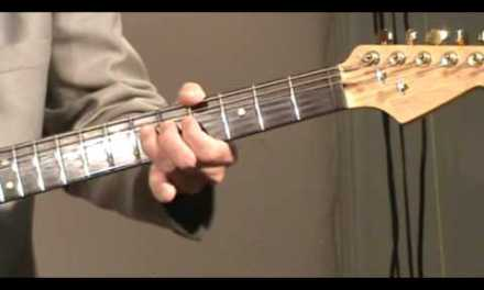 Guitar lesson – Blues solo in G #2, Part 2