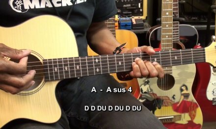 RAMBLE ON Led Zeppelin Open Chord Guitar Strumming Lesson In STANDARD TUNING