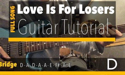 Love Is For Losers Guitar Lesson Full Song (Longshot)(Green Day)(Tutorial)