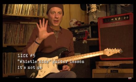 """Umphrey's McGee: """"Whistle Kids"""" Guitar Lesson – Lick #5"""
