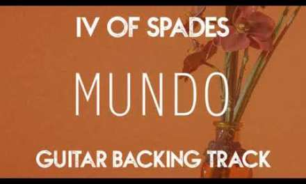 IV of Spades – Mundo (Guitar Backing Track) 70BPM