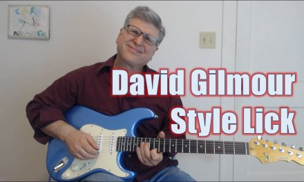 David Gilmour Style Lick (Guitar Lesson with TAB)