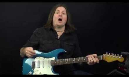 Bobby Harrison's Lickorama Ep3: Guitar Lesson – Position Shifting Blues Lick In A Minor