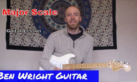 Major Scale (Ionian Mode) – Modal Scales 1 – Guitar Lesson (SOLO 03)