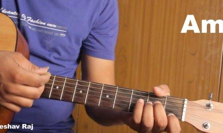 Hothon Se Choo Lo Tum-jagjit Singh-unplugged-Easy Guitar Lesson-HINDI-by Keshav Raj