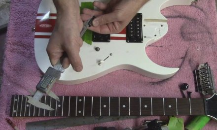 how to install / retro fit a floyd rose in a guitar