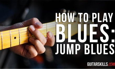 Cool Jump Blues Riff – How To Play Blues Guitar Riffs