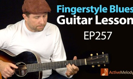 Learn a classic fingerstyle blues composition on guitar – Fingerstyle blues guitar lesson – EP257