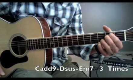 Guitar Lesson-Oasis Wonderwall Strumming Lesson